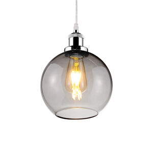 ALTAVOLA DESIGN LA035/P_smoky_chrom Závěsná světla