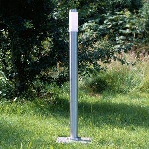 Brilliant Osvětlení cesty Chorus z nerezové oceli, 81 cm