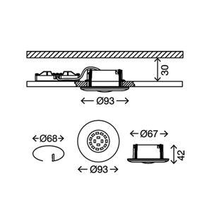 Briloner 7227-016 Podhledové světlo