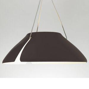 B.lux Hnědé LED závěsné světlo Ginkgo S50 50 cm