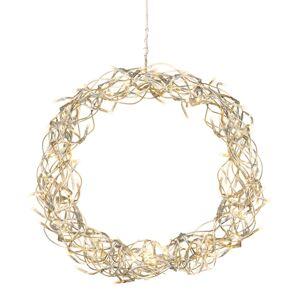 STAR TRADING Dekorativní LED věnec Curly 30 cm