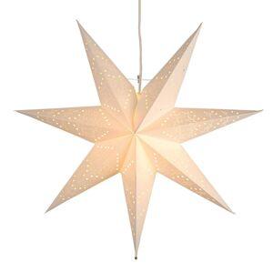 STAR TRADING Jemná papírová hvězda Sensy závěsná