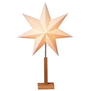 STAR TRADING Karo - stojákové světlo se vzorkem hvězdy 70 cm