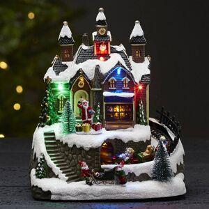 STAR TRADING S hudbou - LED dekorativní světlo Trainville