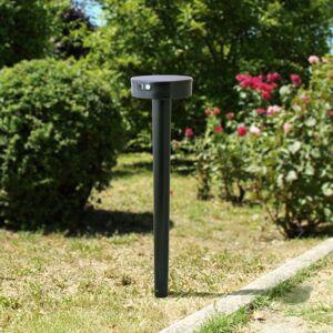 Fumagalli LED solární svítidlo Fiorina černé CCT senzor