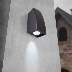 Fumagalli LED venkovní světlo Mamete 3.000 K černé hranaté