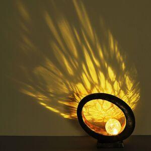 Globo LED solární světlo 36526 dekorační zlatá