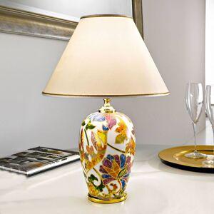 AUSTROLUX BY KOLARZ Stolní lampa Damasco se zlatem 24 karátů, Ø 40 cm