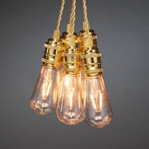 Konstmide CHRISTMAS LED světelný řetěz, žárovky, vnitřní, 8 zdrojů