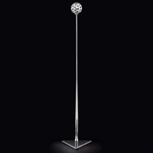 PATRIZIA VOLPATO 510/LT1 Chromo/Nero Stojací lampy