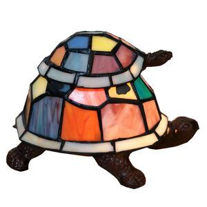 Clayre & Eef Dekorační světlo 6002, dvě želvy, styl Tiffany