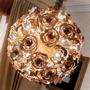 Masca Umělecké LED závěsné světlo VIE EN ROSE