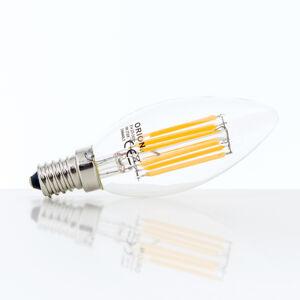 Orion E14/2W klar LED FO Stmívatelné LED žárovky
