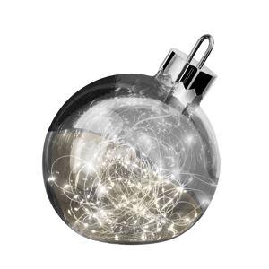Sompex Dekorační světlo Ornament, tmavě šedá, Ø 25 cm