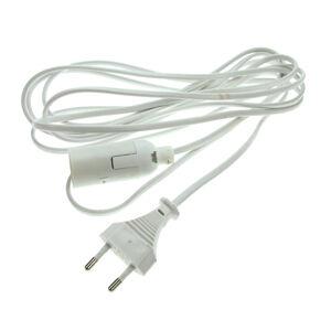 Heitronic Připojovací kabel s Euro zástrčkou a soketem E14