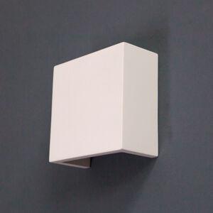 Lindby LED nástěnné světlo Fabiola ze sádry, výška 12,5cm