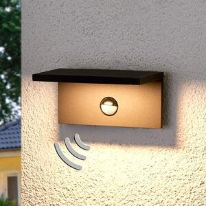 Lucande Hranatá venkovní LED lampa Darina, detektor pohybu