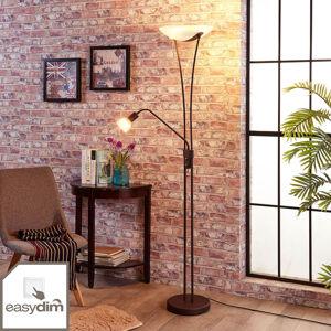 Lindby Stmívatelná LED stropní stojací lampa Felicie