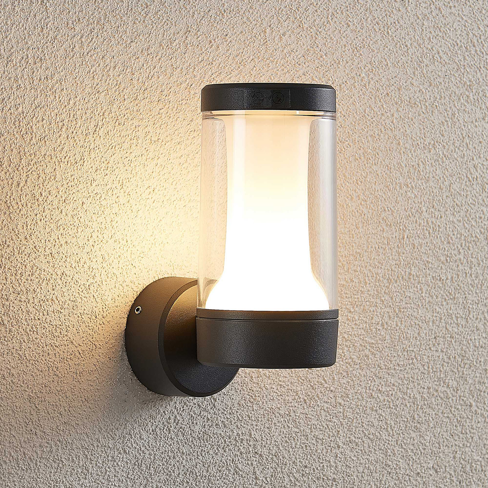 Lampenwelt.com 9969092 Venkovní nástěnná svítidla