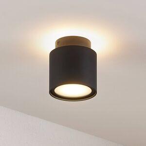 Arcchio Arcchio Walisa LED stropní světlo, sklo, černé