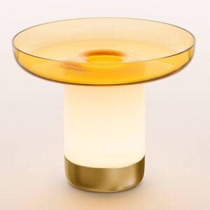 Artemide Artemide Bontà LED stolní lampa, žlutá miska