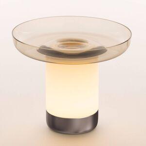 Artemide Artemide Bontà LED stolní lampa, šedá miska