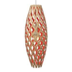 DAVID TRUBRIDGE david trubridge Hinaki závěsné světlo 50cm červená