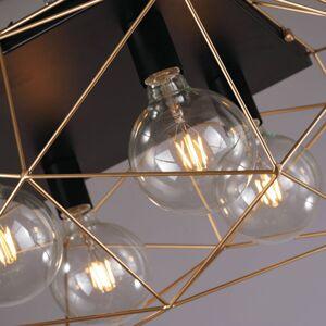 Eco-Light Stropní světlo Abraxas, čtyři zdroje