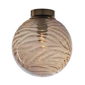 Eco-Light Stropní světlo Nereide, sklo bronz
