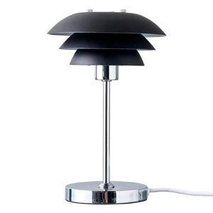DYBERG LARSEN Dyberg Larsen DL16 stolní lampa, Ø 16 cm, černá