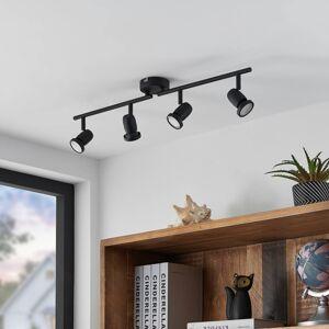 ELC ELC Simano LED stropní reflektor, černá, 4 zdroje