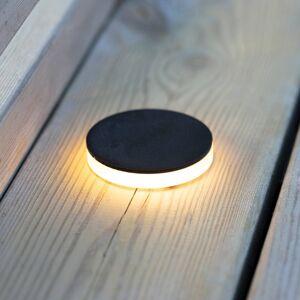 Markslöjd Garden 24 LED spotlight černá 3W boční Ø6cm
