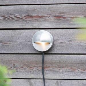 Markslöjd Garden 24 LED nástěnné světlo Wall, stříbrná