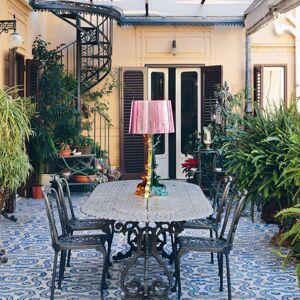 Kartell Kartell Bourgie LED stolní lampa multicolor růžová