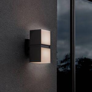 Eco-Light LED nástěnné světlo Cuba 2zdroje matná černá 3000K