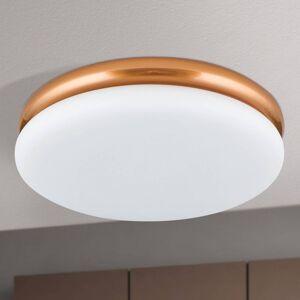 Orion LED stropní světlo James s kovovým krytem, měď