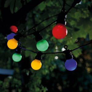 Sirius LED světelný řetěz Lucas startér 10 zdrojů pestrá
