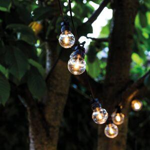 Sirius LED světelný řetěz Lucas startér 10 zdrojů, čirá