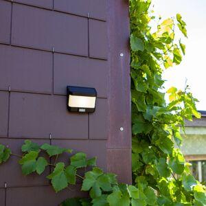 Eco-Light LED solární nástěnné světlo Try se senzorem pohybu