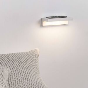 FARO BARCELONA LED nástěnné světlo Well USB+wireless charger bílá
