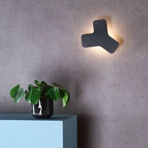 Deko-Light LED nástěnné světlo Ypsilon, tmavě šedá