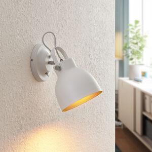 Lindby Lindby Adirta kovové nástěnné světlo v bílé barvě