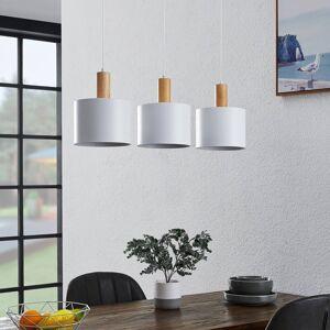 Lindby Lindby Kadir závěsné světlo, bílá