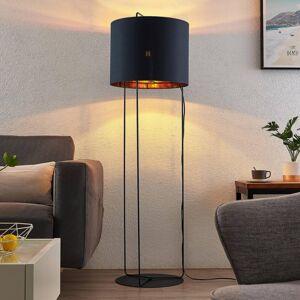 Lindby Lindby Kesta stojací lampa látka podstavec 3 tyče