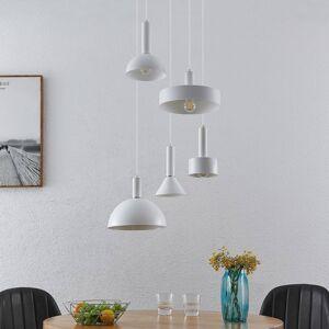 Lindby Lindby Mareke závěsné světlo, bílá