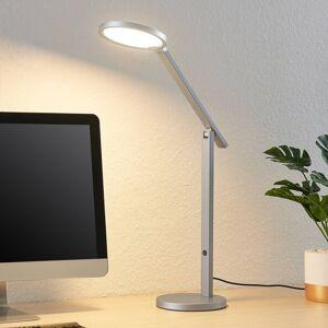 Lucande Lucande Felkano LED stolní lampa, stříbrná