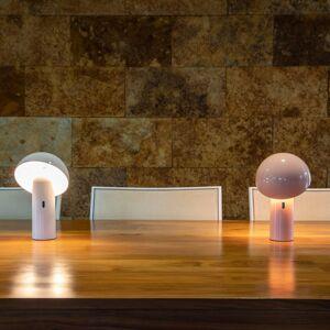 NEWGARDEN Newgarden Enoki LED stolní lampa s baterií, růžová