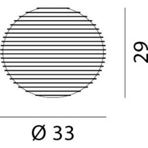 Rotaliana 1FWH4G0163ZB0 Stropní svítidla
