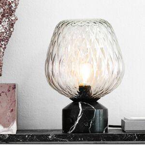 &TRADITION &Tradition Blown SW6 stolní lampa, stříbřitá-čirá